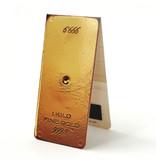 Marcador magnético, barra de oro