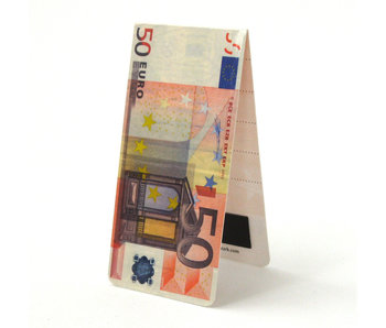Magnetic Bookmark, 50 Euro Bill
