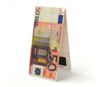 Magnetisches Lesezeichen, 50 Euro Bill