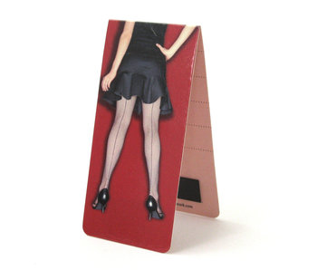 Magnetic Bookmark, Woman's legs