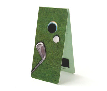 Magnetic Bookmark, Golf