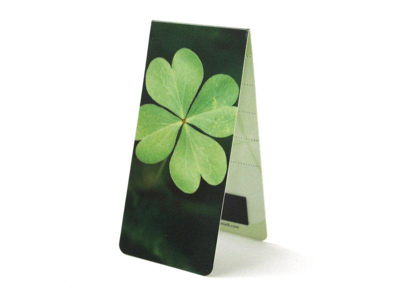Magnetic Bookmark, Four Leaf Clover