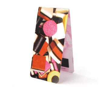 Marque-page magnétique, bonbons