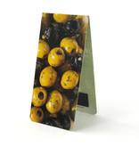 Magnetisches Lesezeichen, grüne Oliven