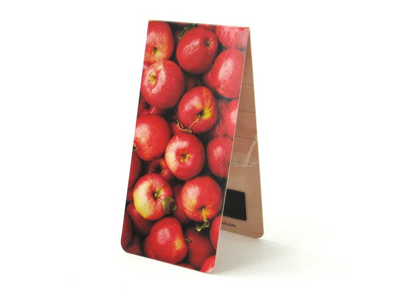 Marque-page magnétique, pommes