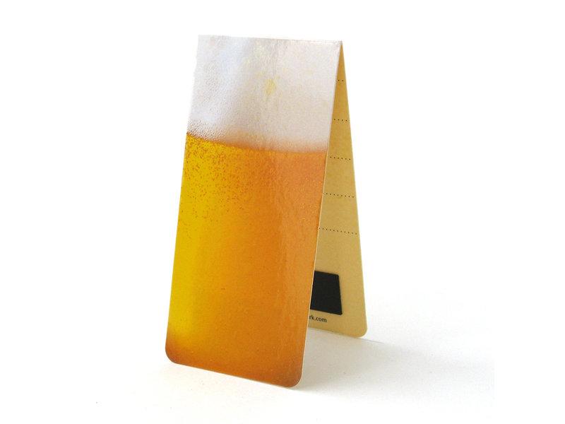 Marque-page magnétique, bière