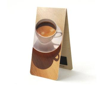 Magnetisches Lesezeichen, Tasse Kaffee