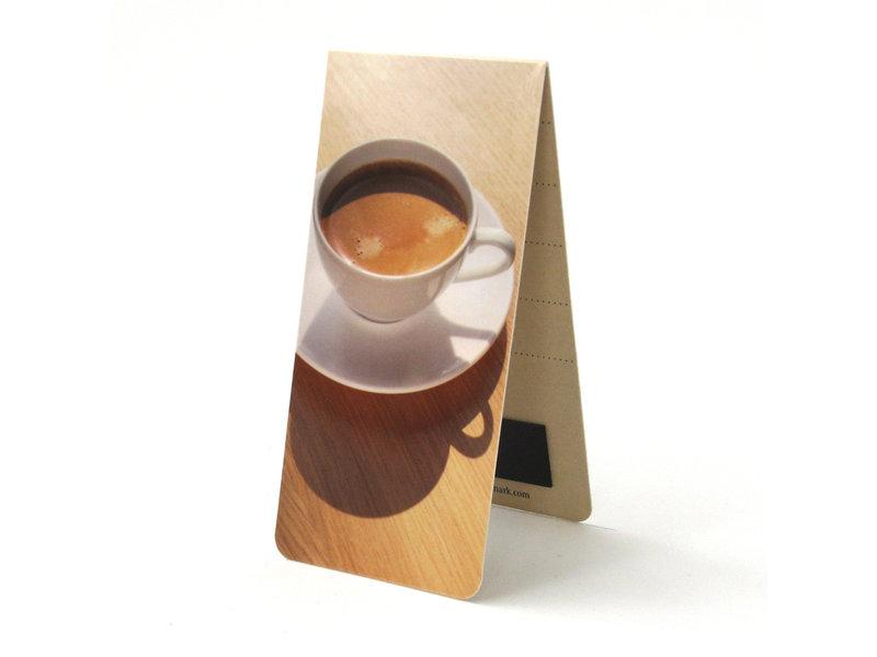 Magnetische Boekenlegger, Kopje koffie