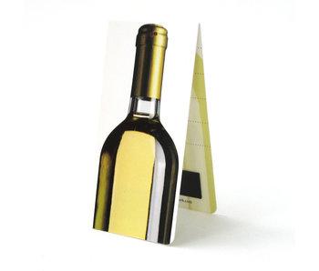 Magnetic Bookmark, Bottle of white wine