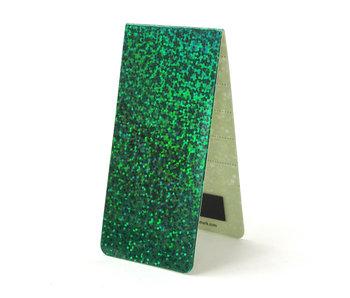 Marcador magnético, holograma verde
