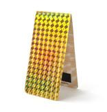 Magnetisches Lesezeichen, Hologramm Gold