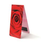 Magnetic Bookmark, Red rose