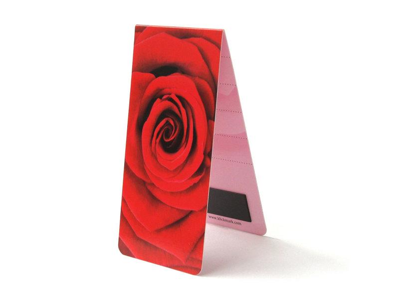 Marcador magnético, rosa roja