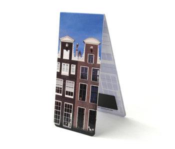Marque-page magnétique, maisons d'Amsterdam