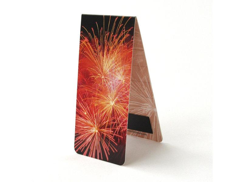 Magnetische Boekenlegger, Vuurwerk