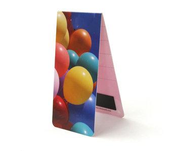 Magnetische Boekenlegger, Ballonnen