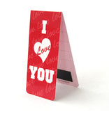 Magnetic Bookmark, I love you