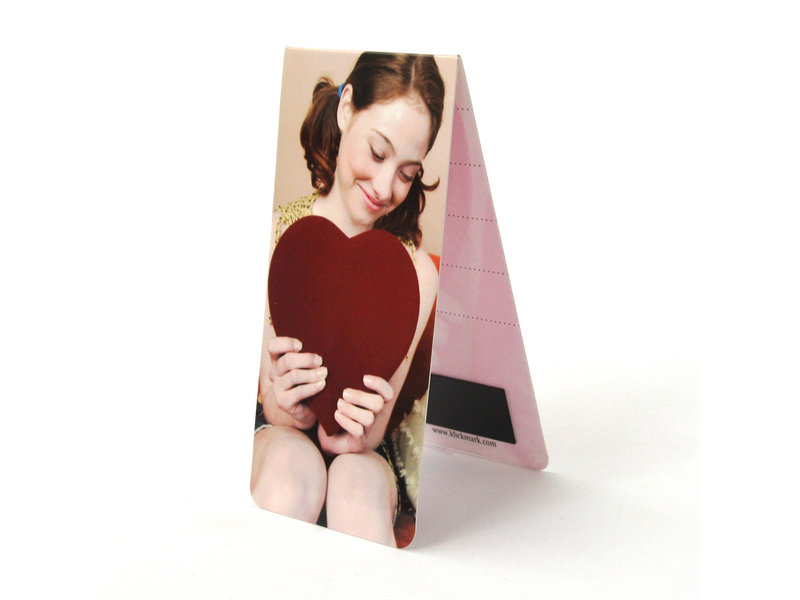 Magnetic Bookmark, Girl with heart