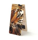 Marque-page magnétique, tigre