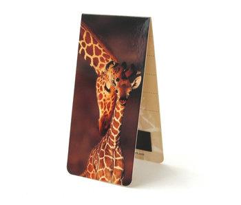 Marque-page magnétique, girafe