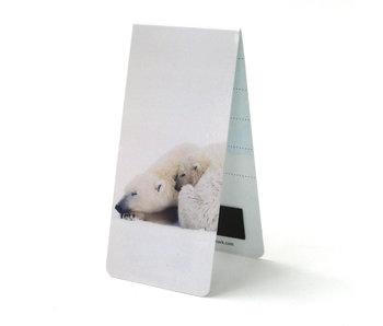 Marque-page magnétique, ours polaire