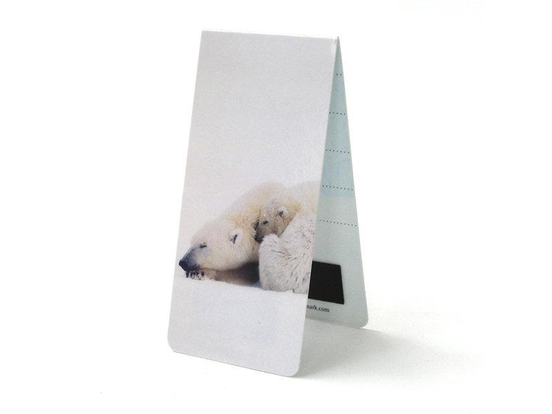 Magnetisches Lesezeichen, Eisbär