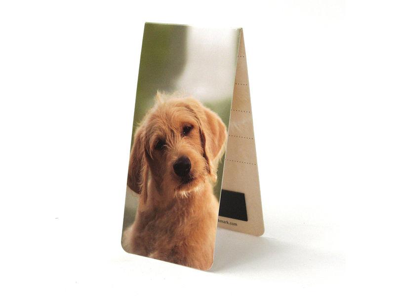 Marque-page magnétique, chien