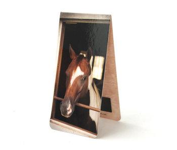 Magnetische Boekenlegger, Paard
