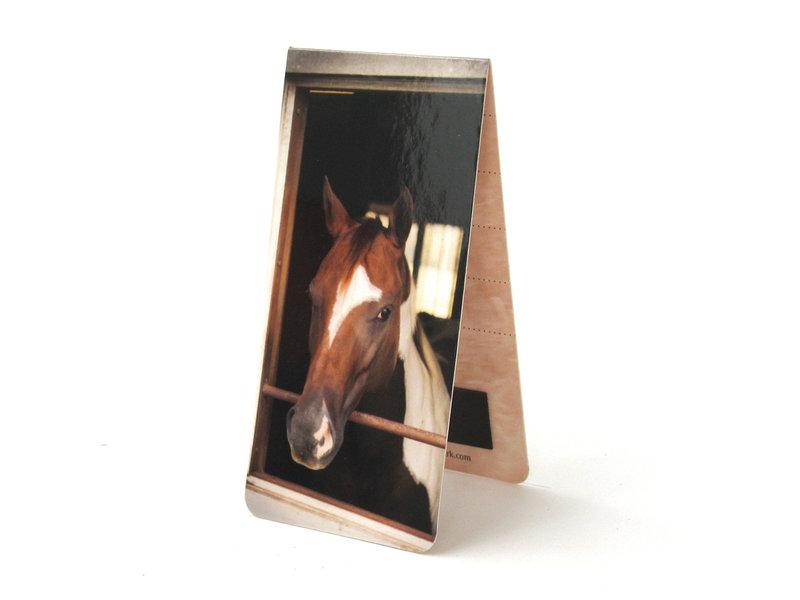 Marque-page magnétique, cheval