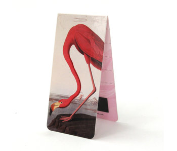 Magnetic Bookmark, John James Audubon, Flamingo