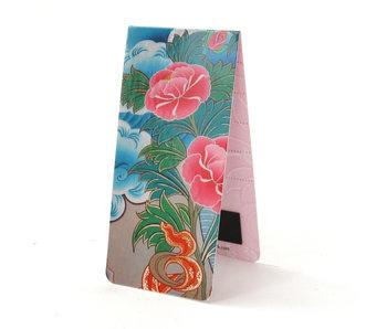 Magnetische Boekenlegger, Lotus, aardewerk