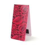 Magnetische Boekenlegger, Patroon, bloemen roze