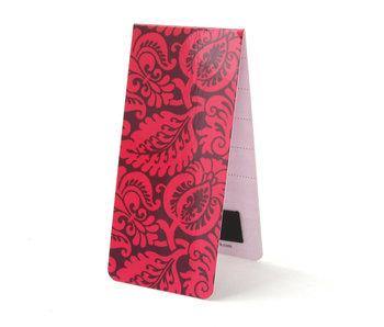 Marcador magnético, Patrón, flores rosas
