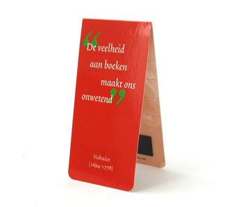 Magnetisches Lesezeichen, Zitat, Voltaire