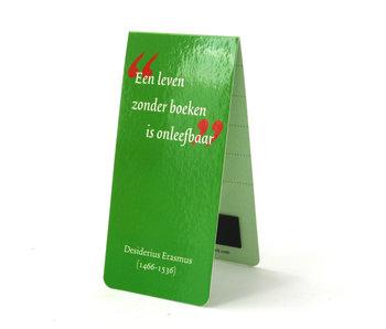 Magnetisches Lesezeichen, Zitat, D. Erasmus