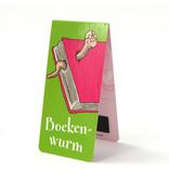 Magnetische Boekenlegger, Boekenworm