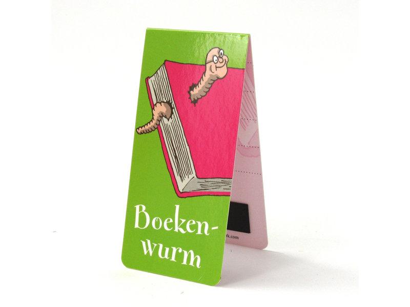 Magnetisches Lesezeichen, Bücherwurm