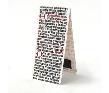 Marque-page magnétique, Bible, calligraphie