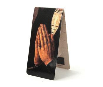 Marque-page magnétique, prière