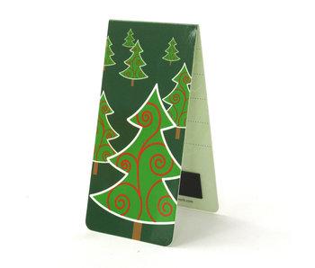 Marcador magnético, árbol de navidad