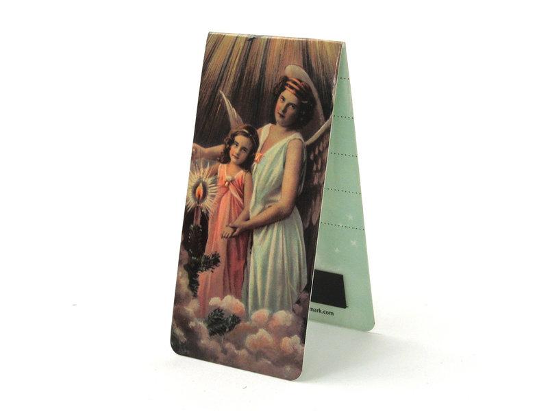 Magnetisches Lesezeichen, Engel mit Kind