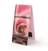 Marque-page magnétique, ours de Noël