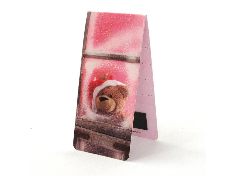 Magnetische Boekenlegger, Kerst beer