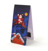Magnetische Boekenlegger, Kerstman , Illustratie