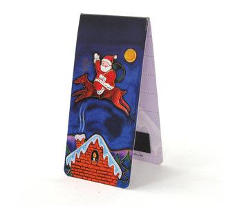 Magnetisches Lesezeichen, Weihnachtsmann, Illustration