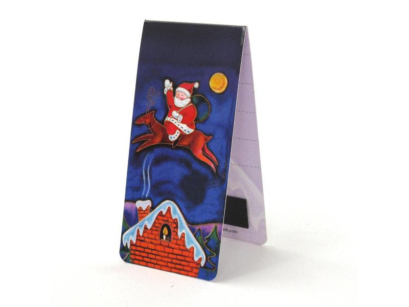 Signet magnétique, Père Noël, Illustration