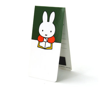 Magnetic Bookmark, Miffy Reading