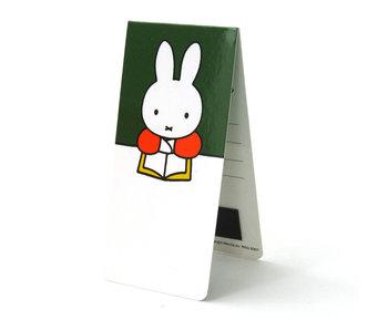 Marque-page magnétique, Miffy lit un livre