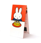 Magnetic Bookmark, Miffy and cake