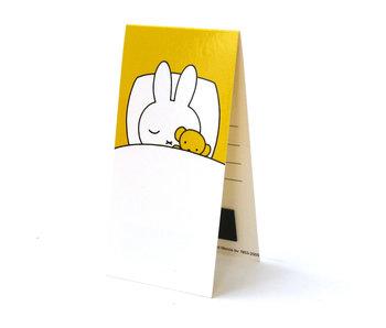 Marcador magnético, Miffy está durmiendo
